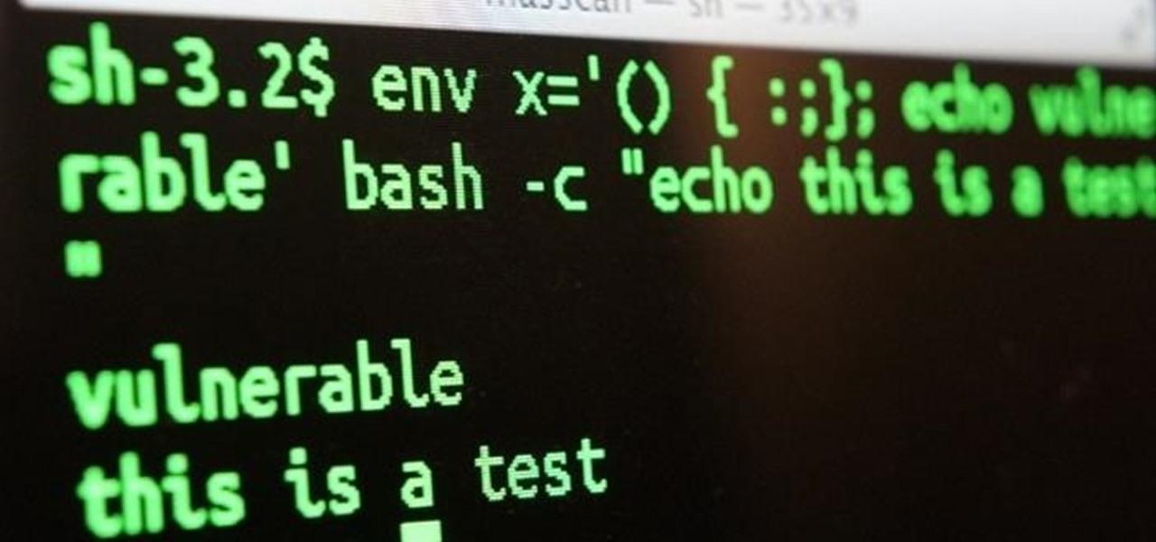 Exploit Shellshock-Vulnerable Websites with Just a Web Browser