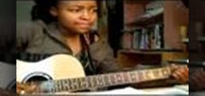 """Play """"What's Up"""" by 4 Non Blondes on the guitar"""