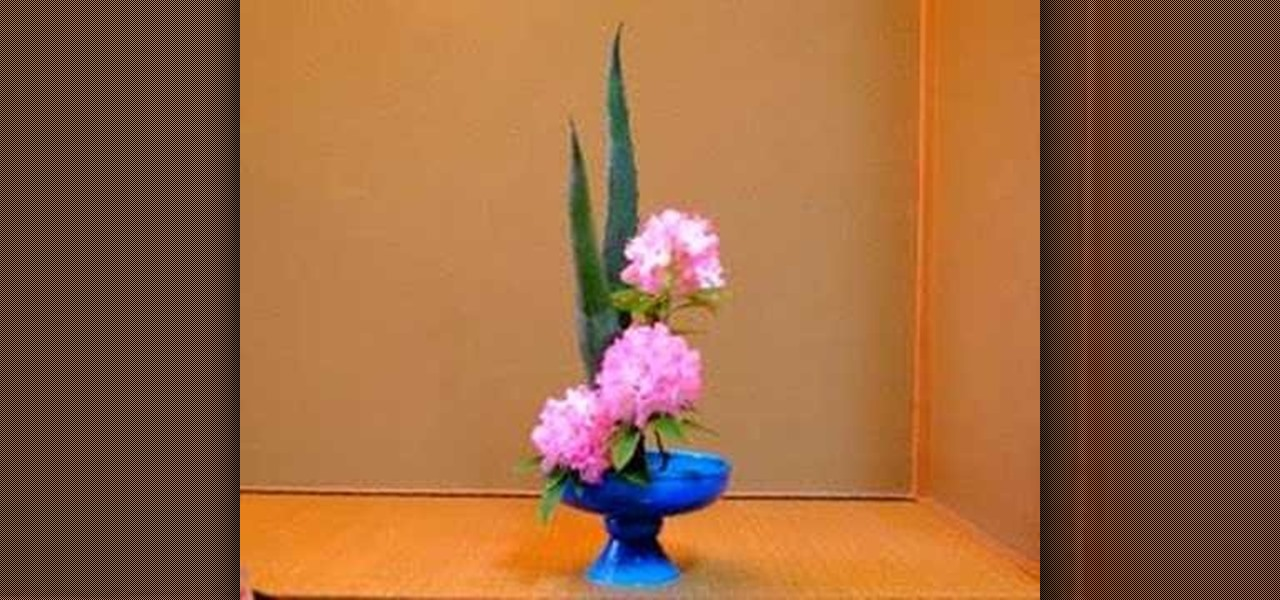 How To Arrange Rising And Inclining Forms In Ikebana Style 171 Flower Arrangement Wonderhowto