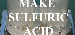 Make sulfuric acid (metabisulfite / oxidizer method)