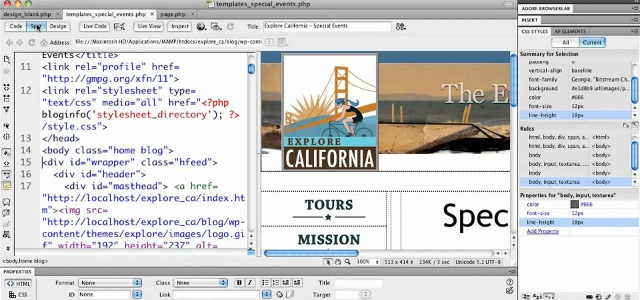 Adobe Dreamweaver — a how-to community for website designers