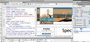 Assign design to a page template when using Dreamweaver CS5 with WordPress 3.0