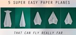 How to Fold a Paper Plane That Can REALLY FLY