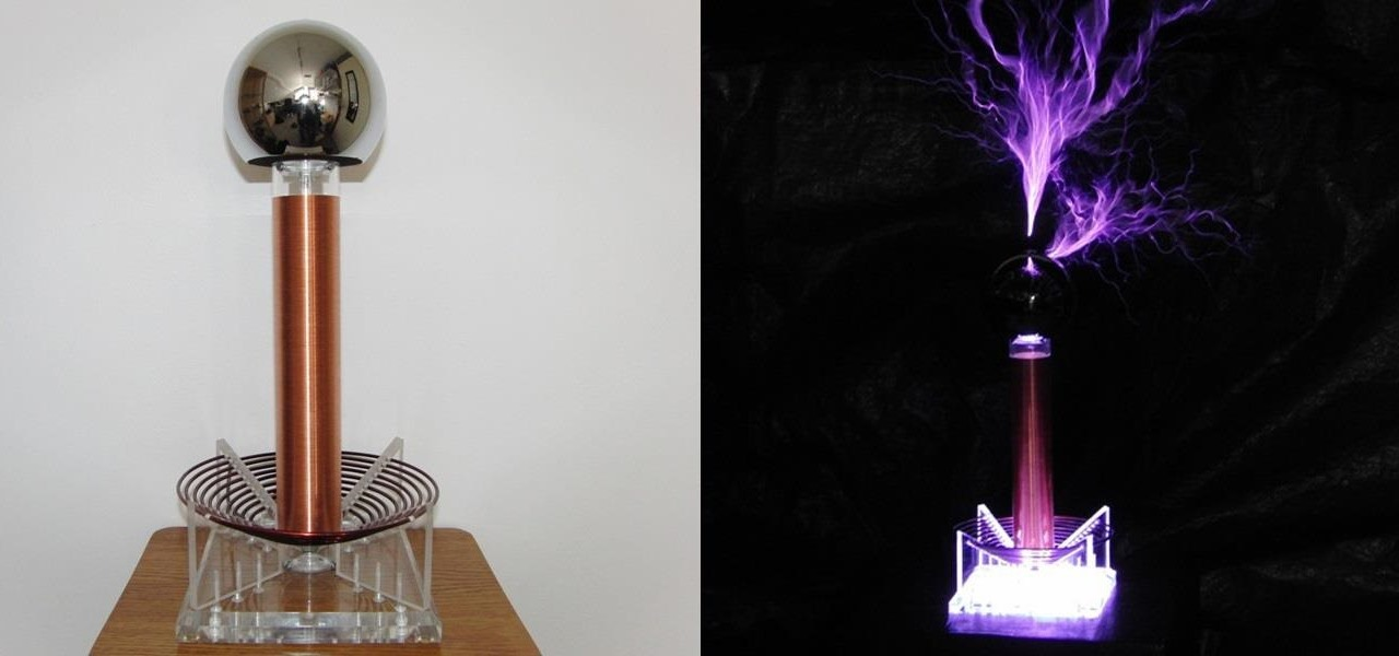 This DIY Mini Tesla Coil Packs 380,000 Volts of Lightning