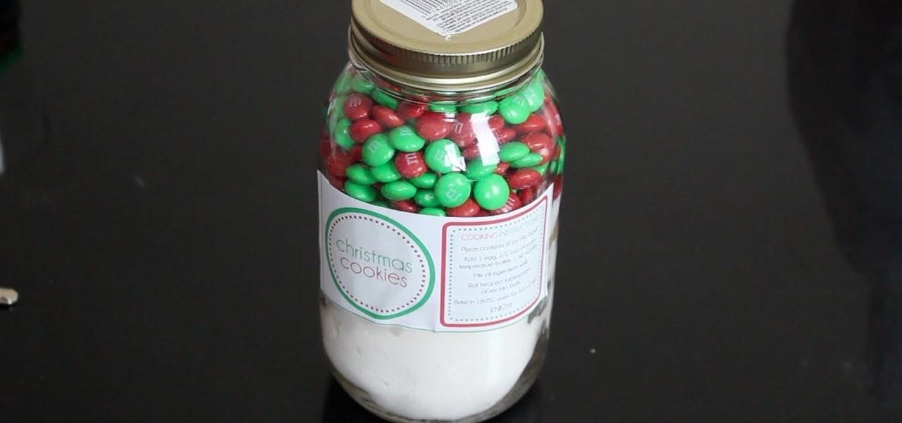 Make Cookies in a Jar
