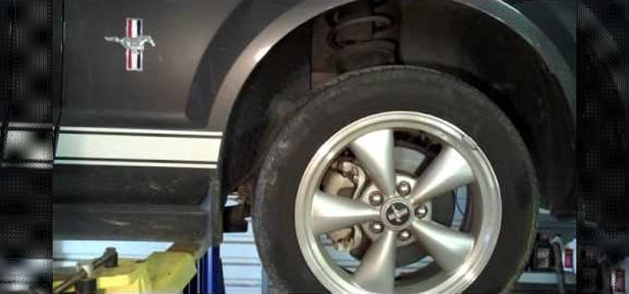 How to Replace rear brake pads on a Ford Explorer « Auto