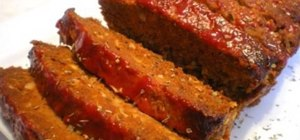 Make a meatloaf for dinner