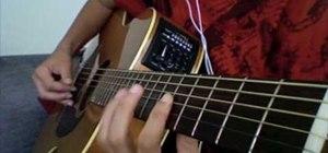 "Play Tay Zonday's ""Chocolate Rain"" on guitar"