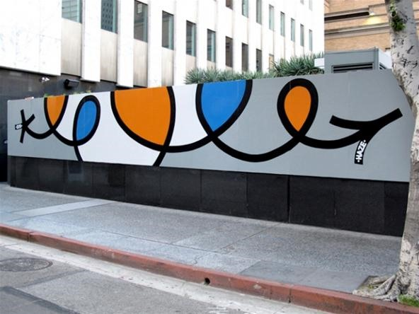 New mural from Haze at the Standard Hotel in LA