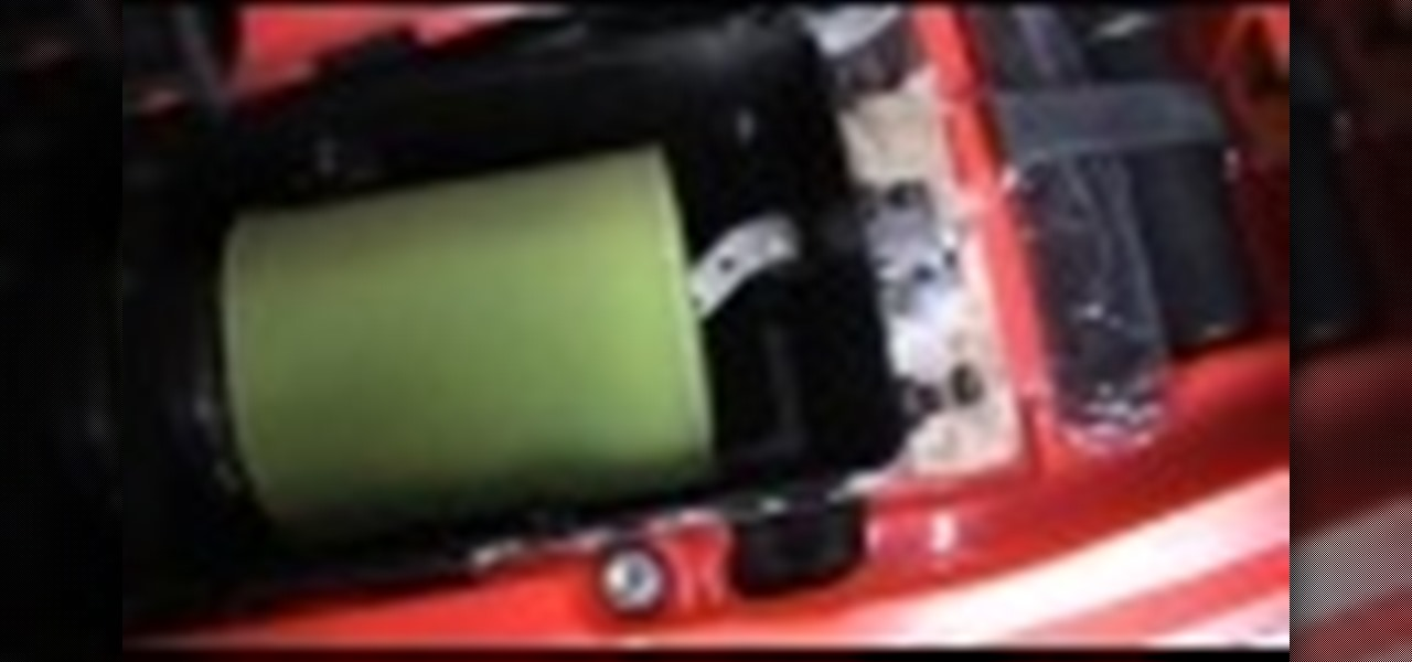 Inspect the Air Cleaner on Your Honda TRX450R
