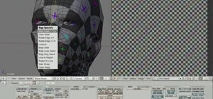 Unwrap UVs on a 3D human head model in Blender