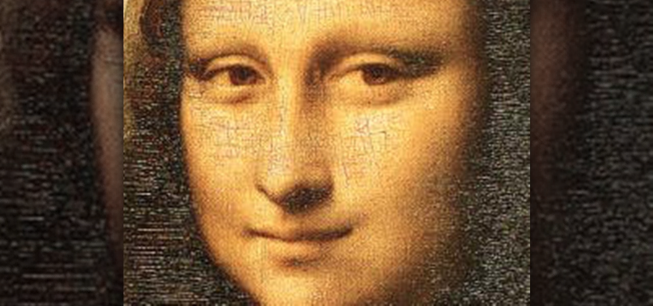 Make Mona Lisa's Eyes Blink in Photoshop (GIF Animation)