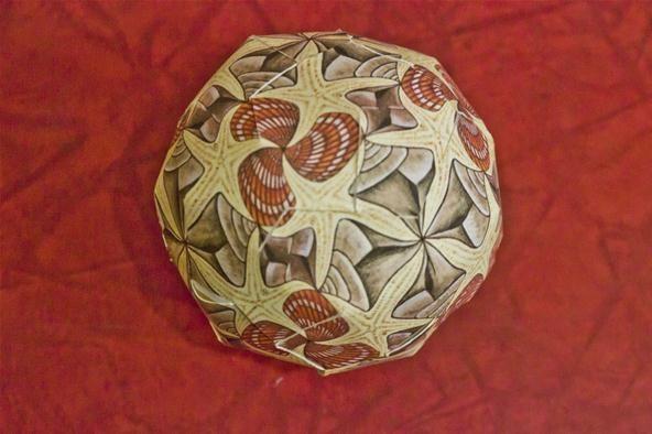 M.C. Escher Square Tessellation Ornaments