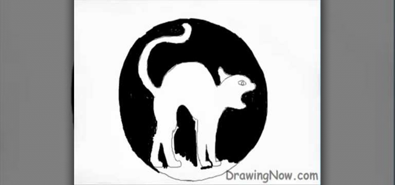 How to Draw a Halloween cat « Drawing & Illustration ...