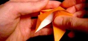 Make a 3D origami Christmas star