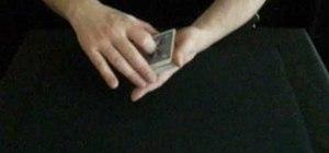 Do the false riffle card shuffle