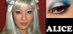 Get an Alice in Wonderland inspired makeup look