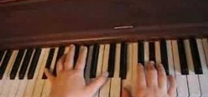 "Play ""7 Things"" by Miley Cyrus on the piano"