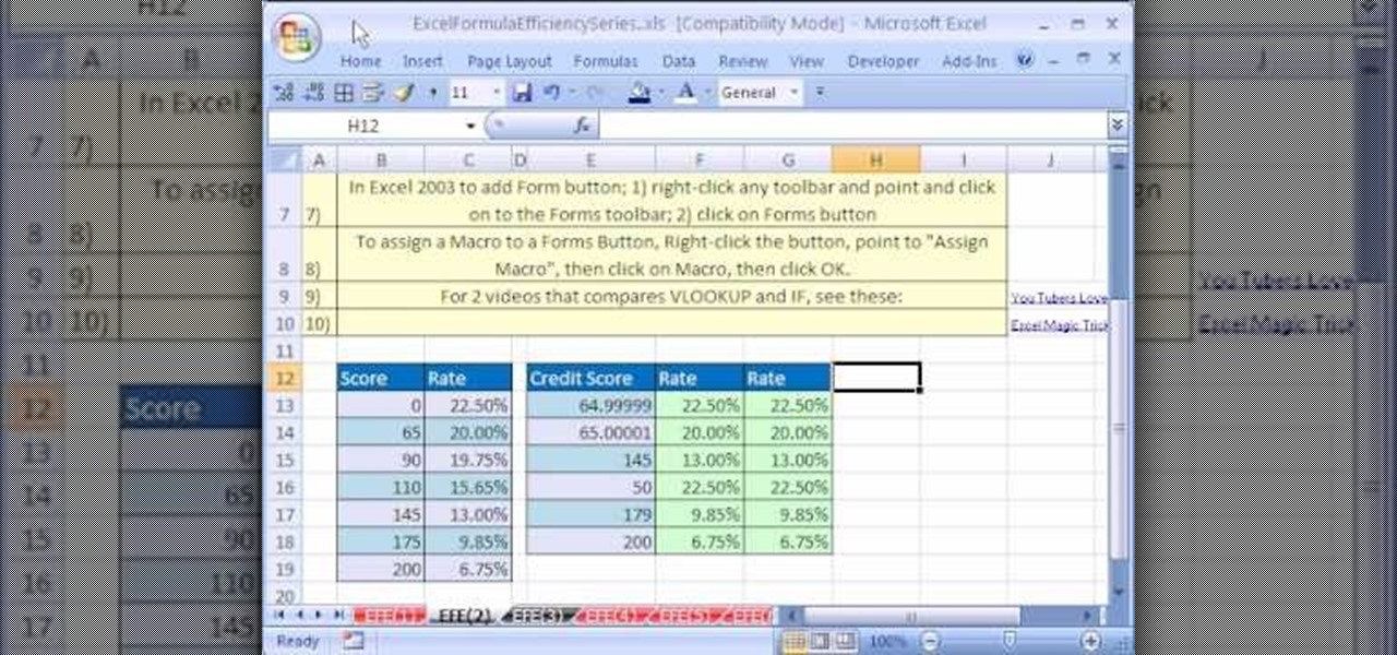 How to Create a formula timer in Microsoft Excel « Microsoft Office