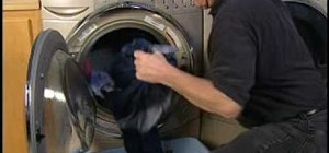 Prevent wrinkled clothes in your front load washer