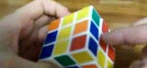 Solve a Rubik's Cube with the Jessica Fridrich Method