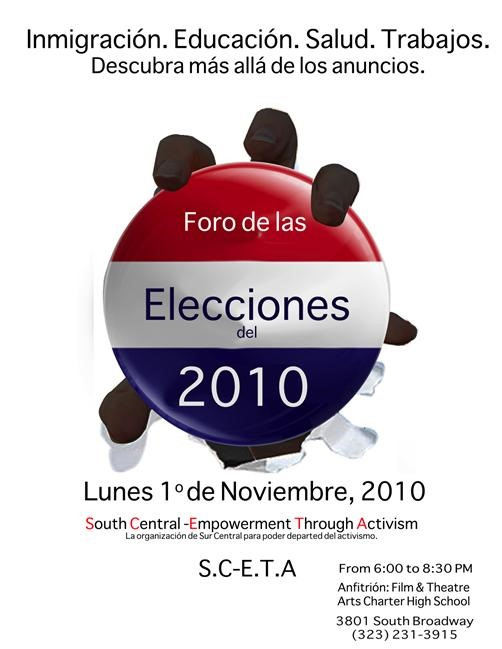 S.C.E.T.A Election Forum