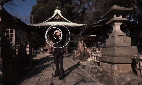 Ouka's Hypnotic Performance with Optical Illusion Rings Is Mesmerizing