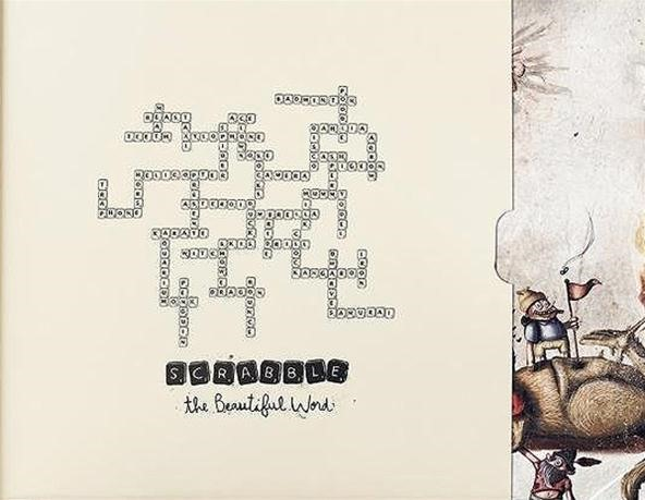 The Beautiful Word: A Beastly Closeup on Scrabble Art from Ogilvy & Mather