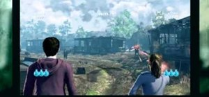 Play the Kinect challenges in Harry Potter and the Deathly Hallows, Pt. 1
