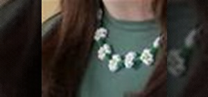 Make a  daisy chain necklace