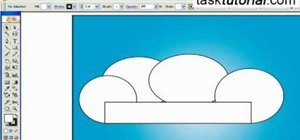 Create a cartoon cloud in Illustrator