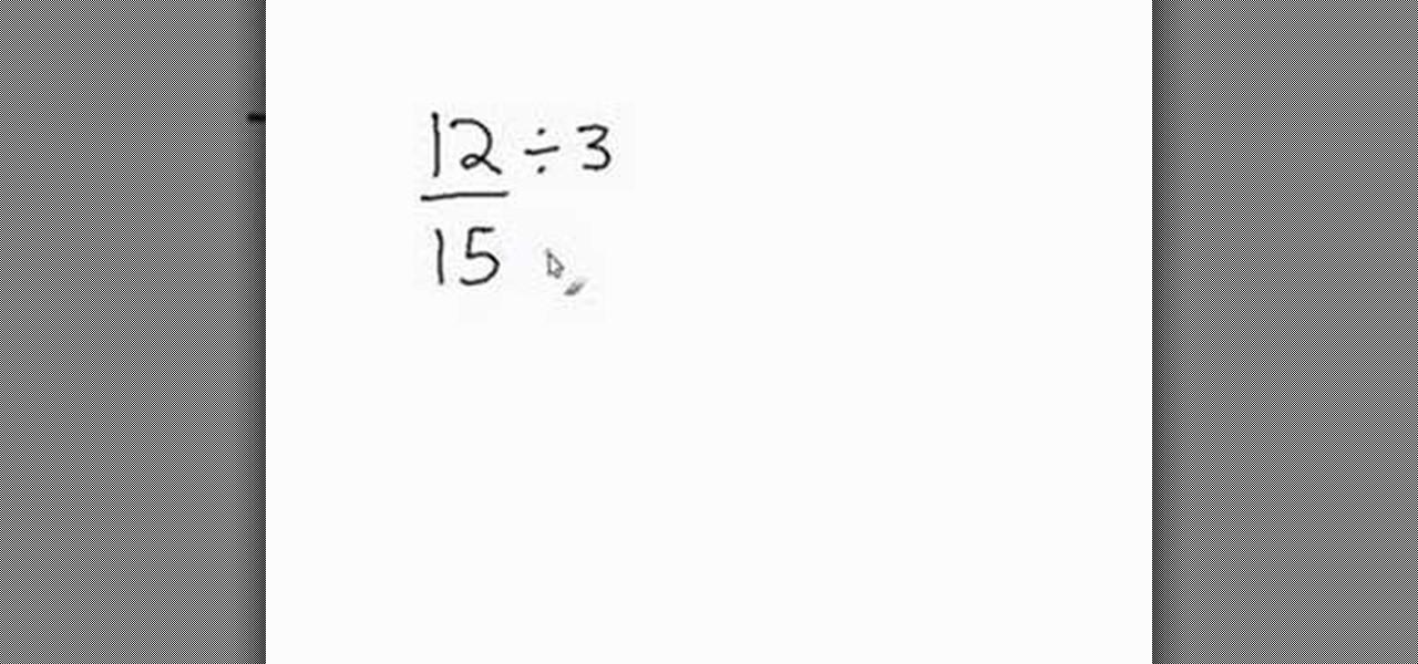 Complex fractions homework help