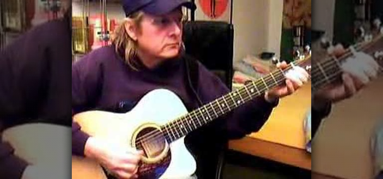 How to Play simple Delta blues-style riffs in the key of E