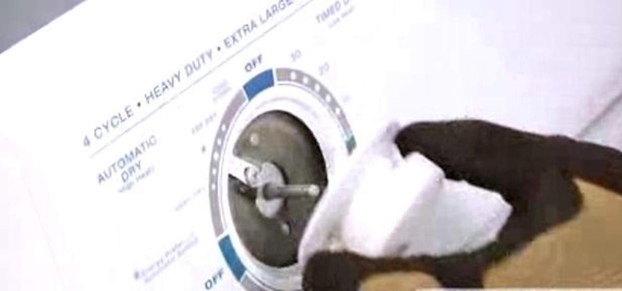 Replace a Dryer Timer Knob