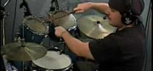 Read the ride, crash, and toms in drum notation