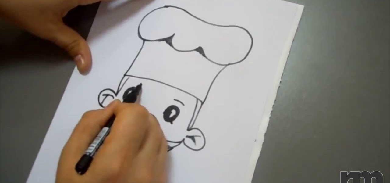 Draw a Cartoon Cook