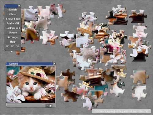 Some cute online jigsaw puzzle games
