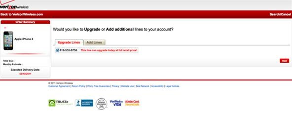 How to Order Your Verizon iPhone 4 Today (Existing Verizon Wireless Customers)