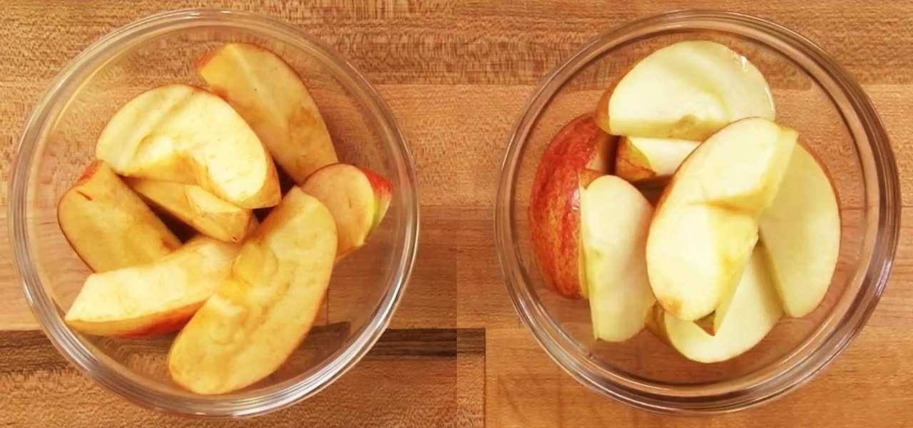 This Food Hack Keeps Sliced Fruits & Veggies Fresh & Bright for a Full Day