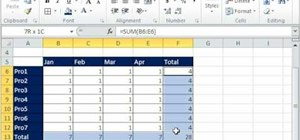 Drill through spreadsheets in Microsoft Excel