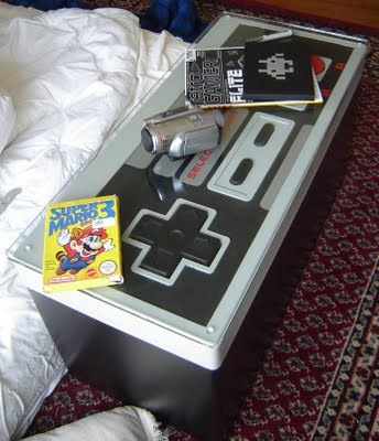 DIY Gigantic Nintendo Coffee Table Controller