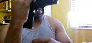 Field strip the Smith & Wesson SW9VE Sigma pistol