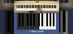 Play major scales on the piano