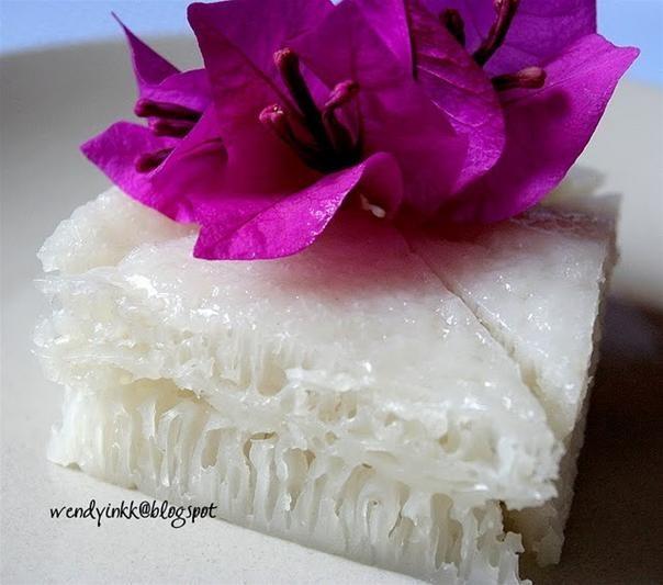 RECIPE: Chinese White Honeycomb Cake