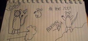 Monkey Being