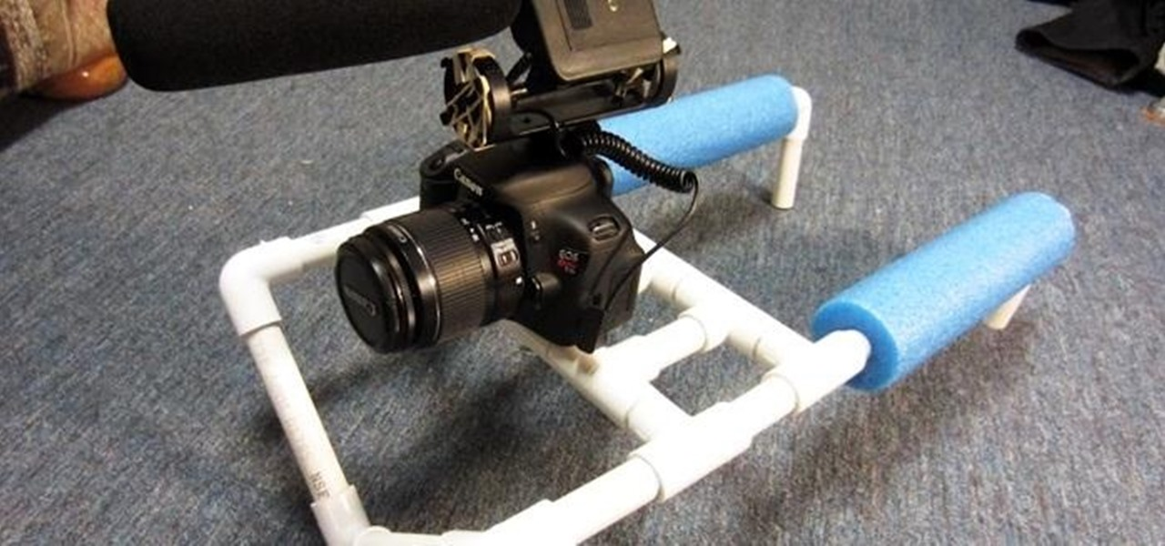 Build a Double-Shoulder Camera Mount for Only $8 Using PVC