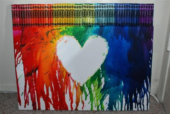 WTFoto's Homemade Mondays: It's Raining Crayons