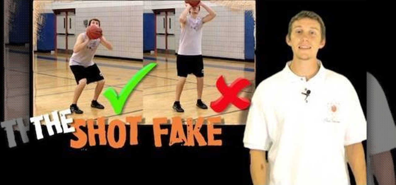 How to Perform a shot fake in basketball « Basketball :: WonderHowTo