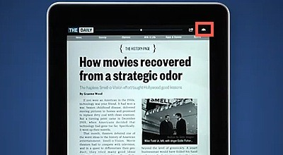 How to Use 'The Daily' iPad App (The First iPad-Only Newspaper)
