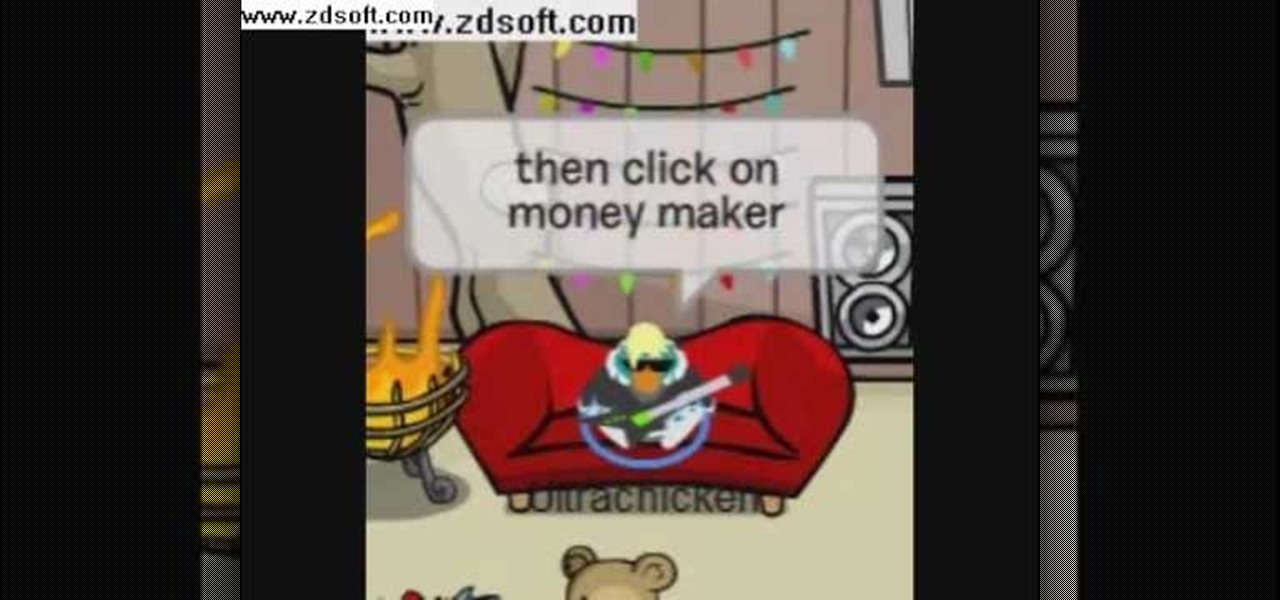 club penguin cheats how to get money for free